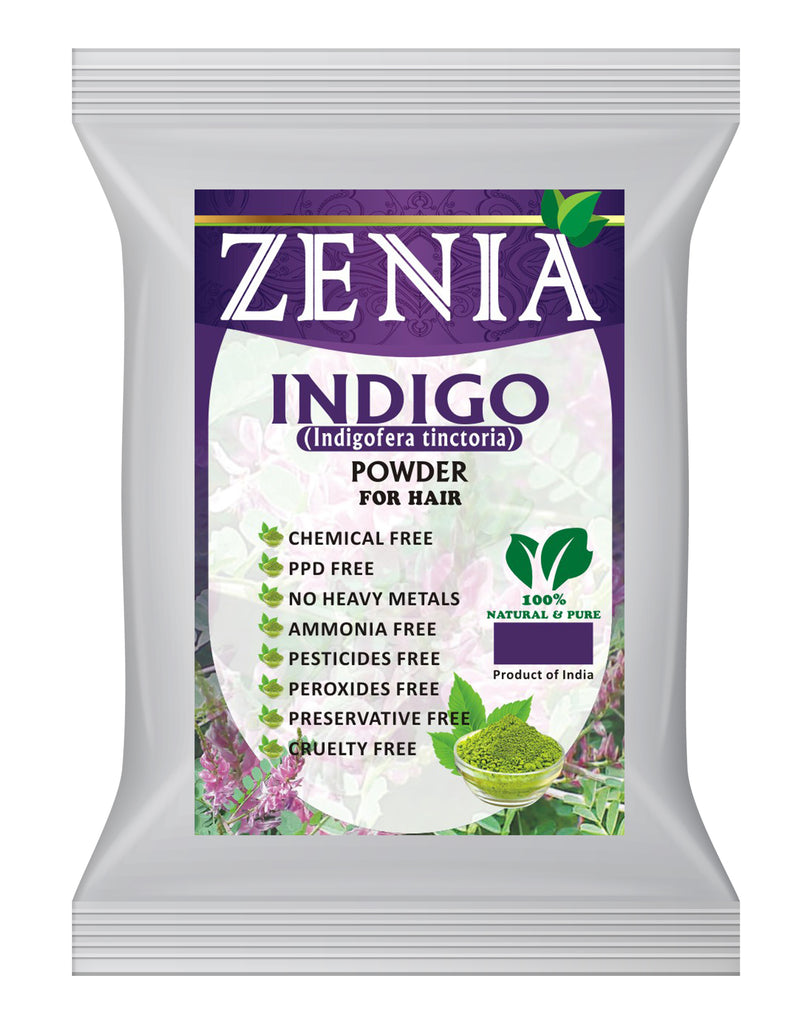 5 Pounds Zenia Indigo Powder Hair / Beard Dye Color 2019 Crop
