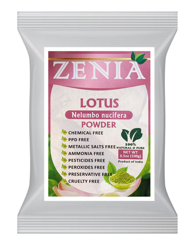 100g Zenia Pure Lotus Powder
