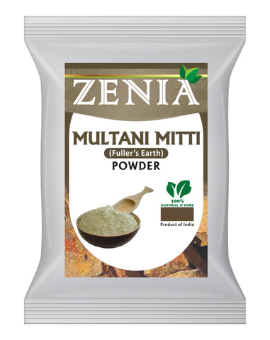 100g Zenia Multani Mitti (Fullers Earth) Clay Mask Powder