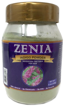 100g Zenia Indigo Powder Jar