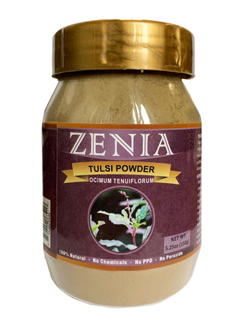 Zenia Tulsi Powder Bottle 150g