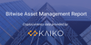kaiko bitwise cryptocurrency data SEC bitwise report