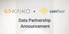 Kaiko and Coinfloor Partner to Provide Institutional Grade Cryptocurrency Market Data