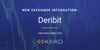 Product Update: Deribit Added to Data Collection