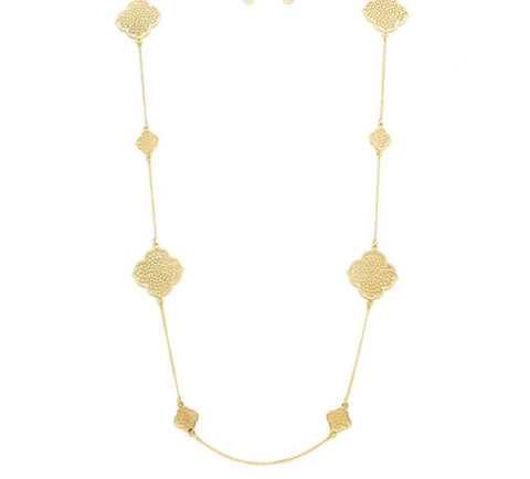 Designer style long necklace