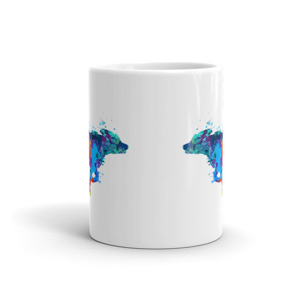 """Running Dog"" Coffee Cup"