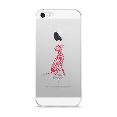 """Heart Dog"" iPhone Case"