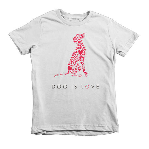 """Dog is Love"" Kids' T-shirt"