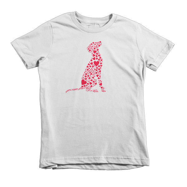 """Heart Dog"" Kids T-shirt"