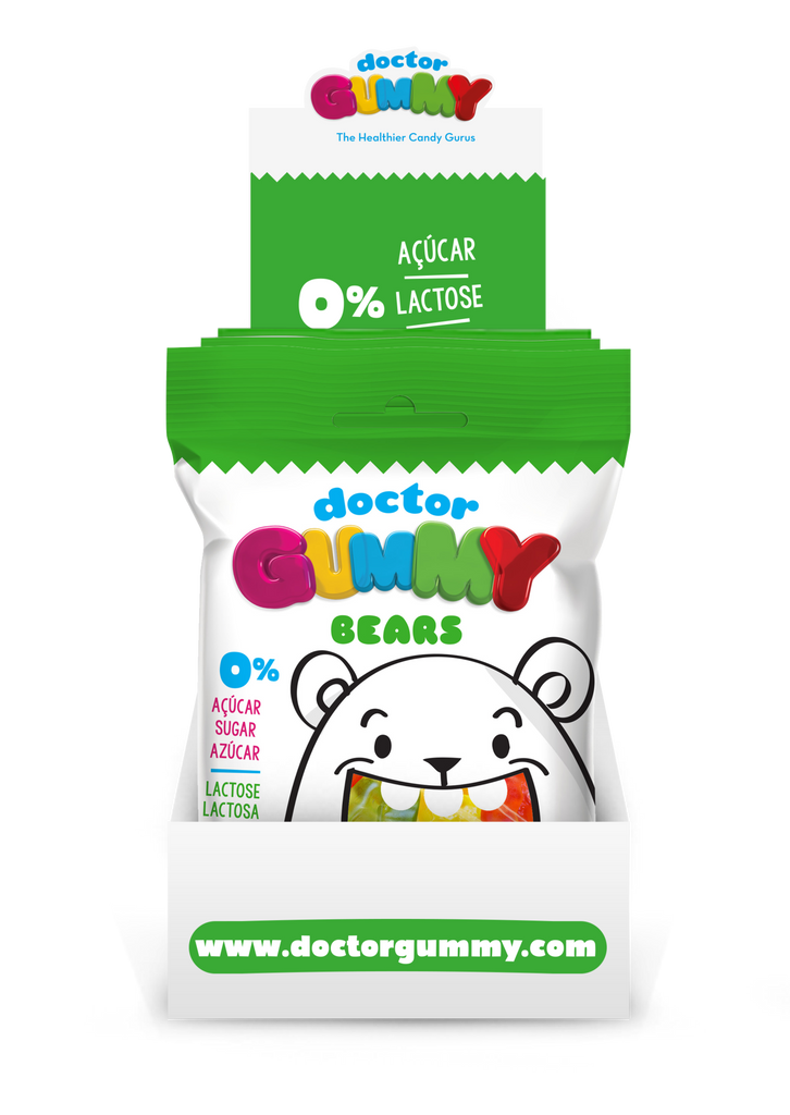 Box of 12 DoctorGummy Bear Gummies 60g