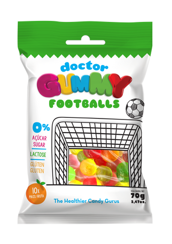 DoctorGummy Football Gummies 70g