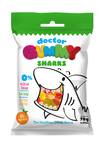 DoctorGummy Shark Gummies 70g