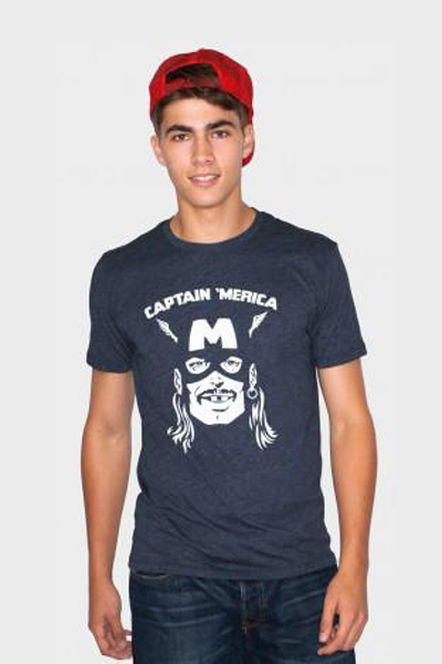 Captain 'Merica T-Shirt - Tractor Beam Apparel