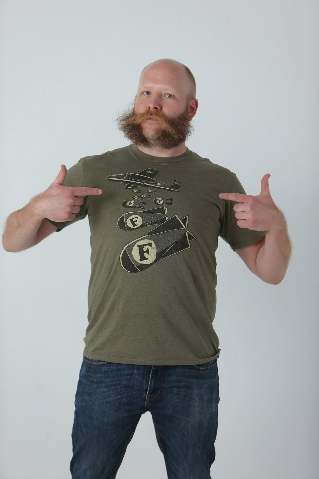 F Bombs T-Shirt - Tractor Beam Apparel