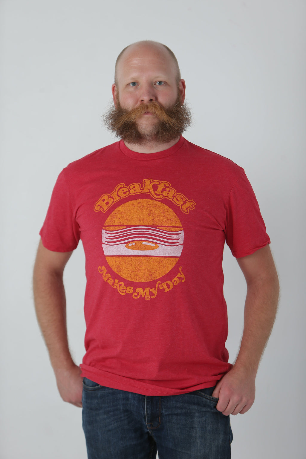 Breakfast Makes My Day T-Shirt - Tractor Beam Apparel