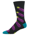 Eggplant socks - Tractor Beam Apparel