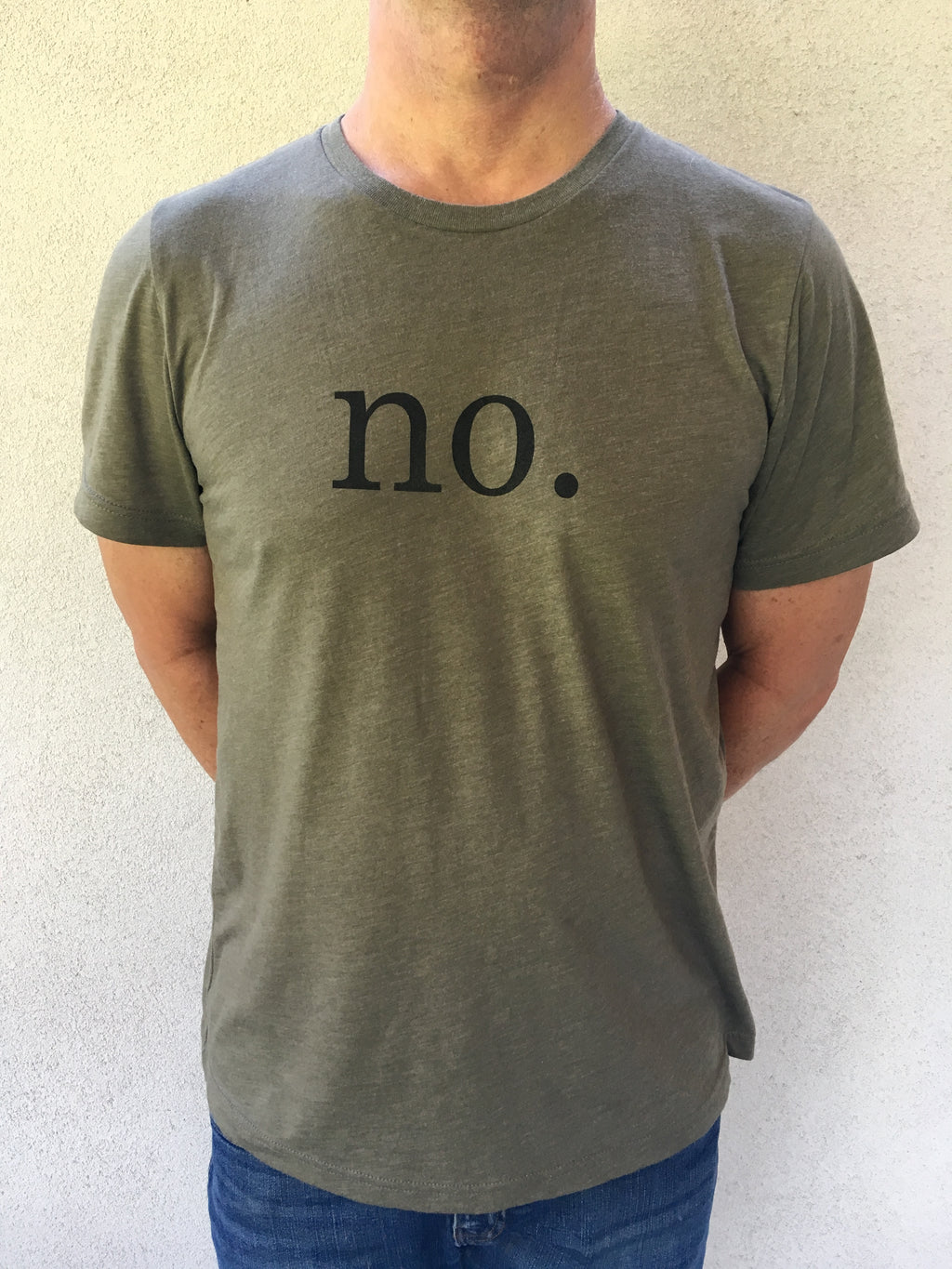 No. T-Shirt - Tractor Beam Apparel