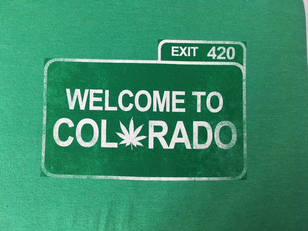 Colorado Exit 420 T-Shirt - Tractor Beam Apparel