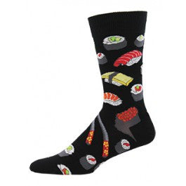 Sushi Socks - Black - Tractor Beam Apparel