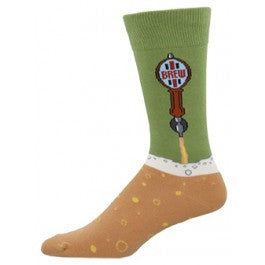 Beer Taps Socks - Tractor Beam Apparel