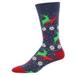 Naughty Reindeer Games Socks - Tractor Beam Apparel