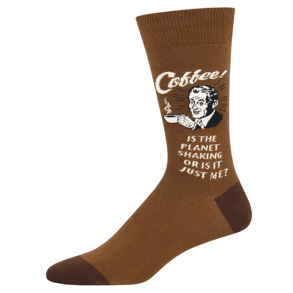 No Beans About It Socks - Tractor Beam Apparel