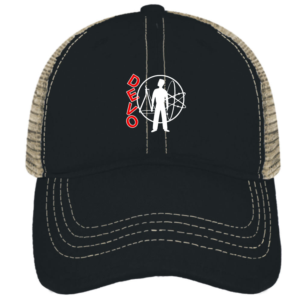 DEVO Snap Back Trucker Cap - Tractor Beam Apparel