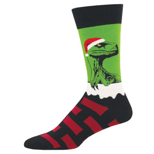 Raptor Clause Socks - Tractor Beam Apparel