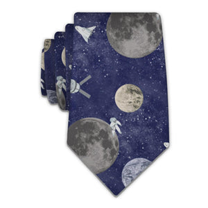 Outer Space Necktie - Tractor Beam Apparel