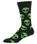 We Come In Peace socks - Tractor Beam Apparel