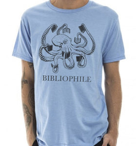 Bibliophile T-Shirt - Tractor Beam Apparel