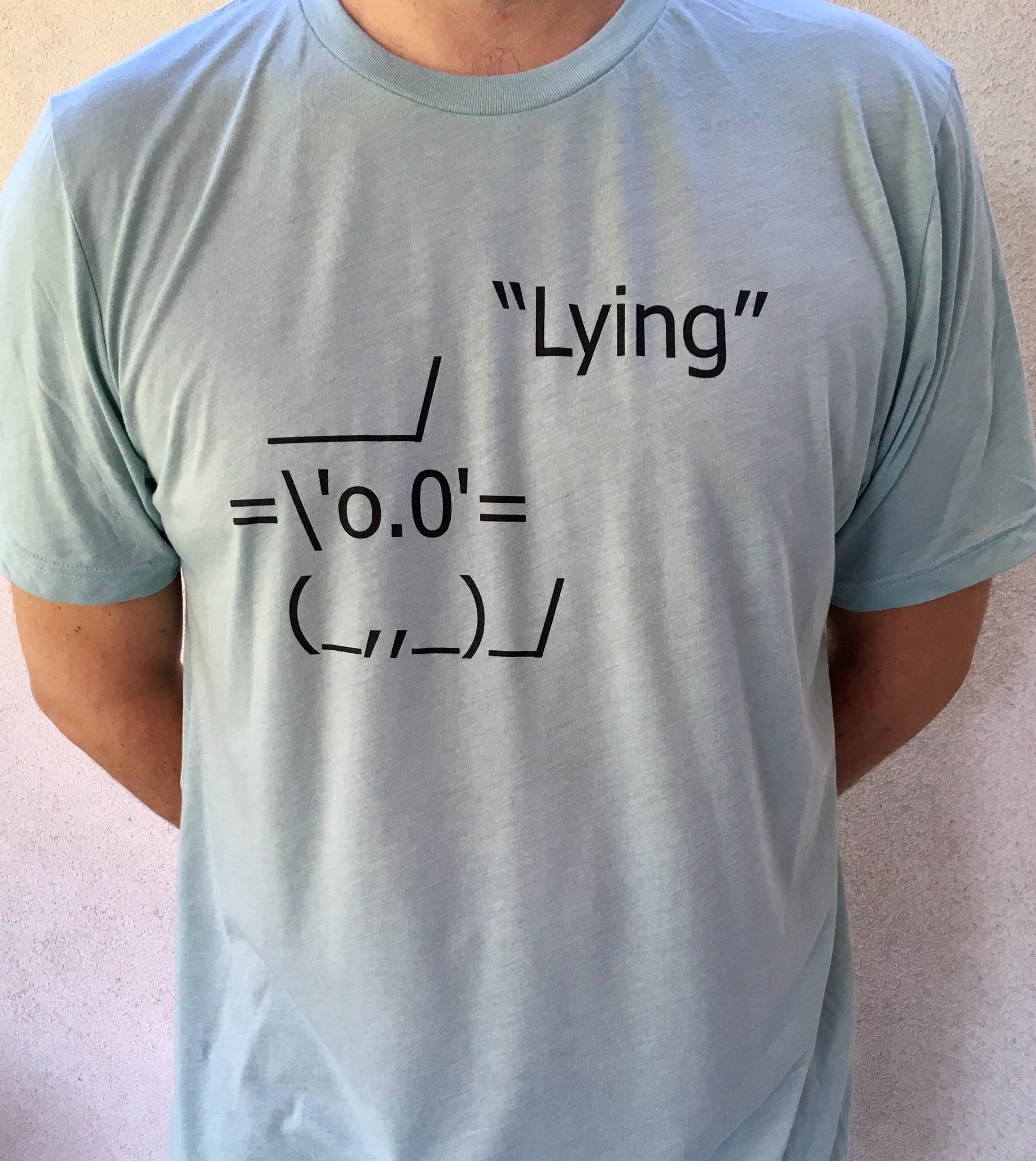 Lying Cat T-Shirt - Tractor Beam Apparel