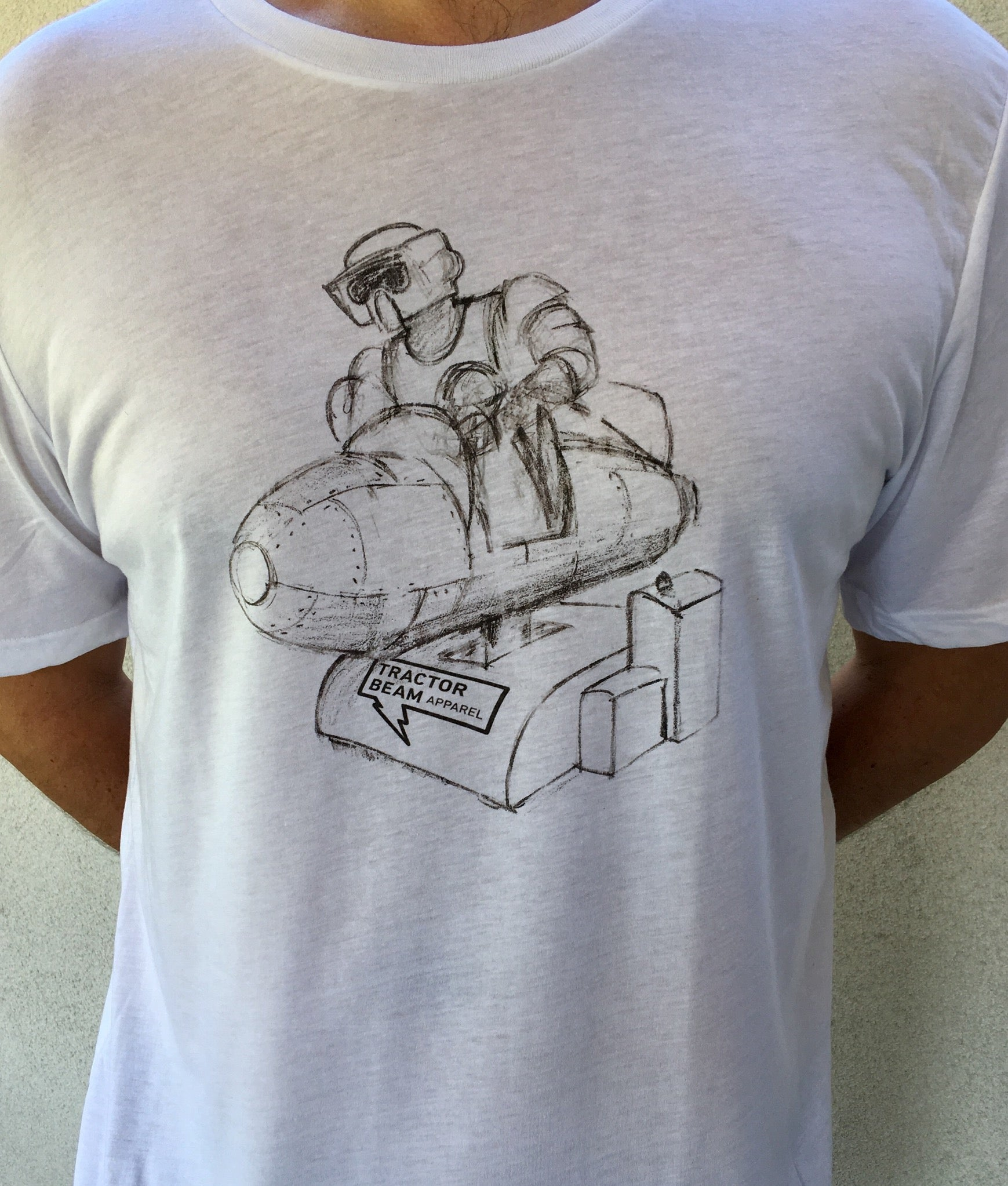 Rocket Trooper T-Shirt - Tractor Beam Apparel
