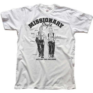 Missionary Style T-Shirt - Tractor Beam Apparel
