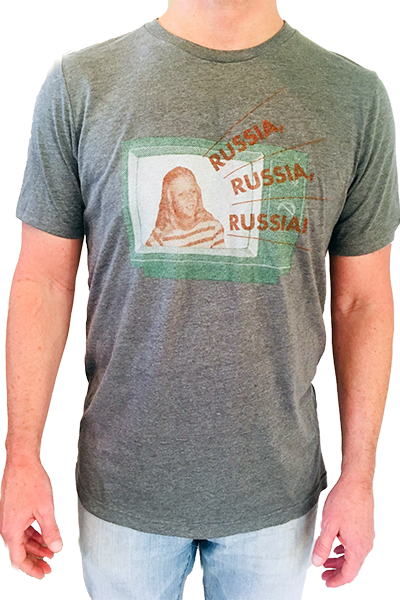 Russia, Russia, Russia T-Shirt - Tractor Beam Apparel