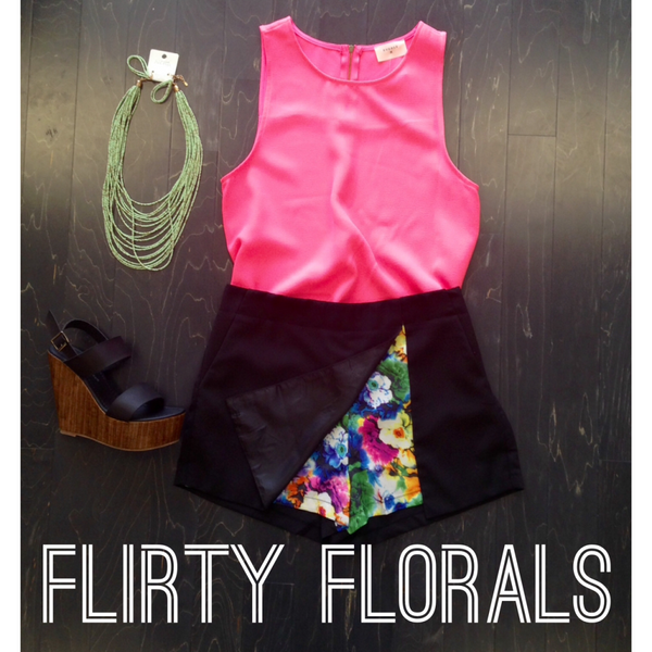Flirty Florals Fashion Series | Taylor Monroe