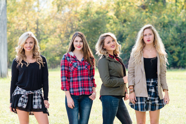 Fall Look Book Release| Falling for Flannel | Taylor Monroe