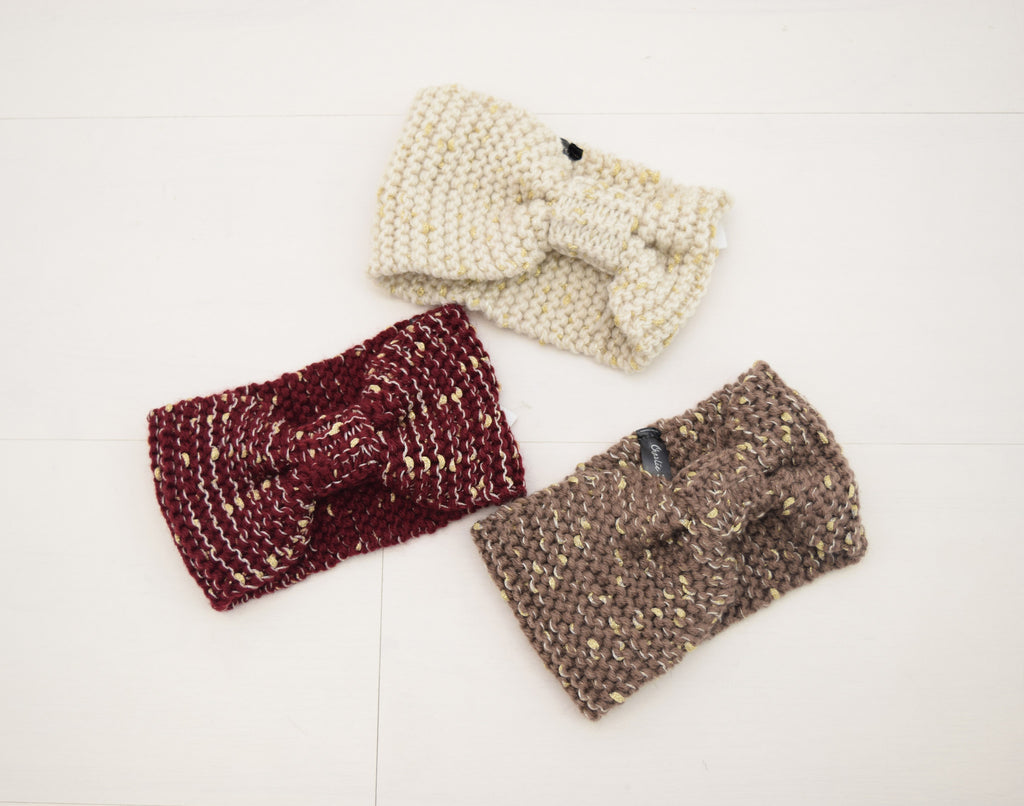 knit headband assort.