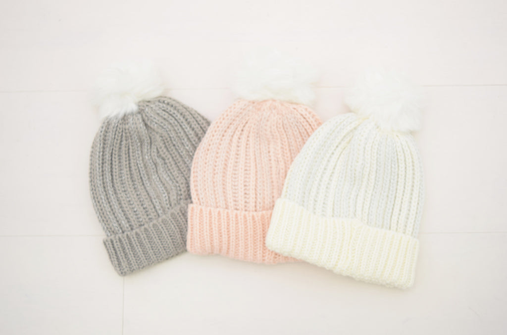 Metalic winter hat- assorted