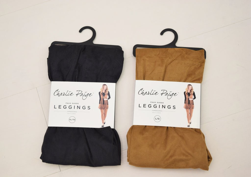 Suede Leggings assorted
