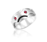 Ruby Crown Ring - b.Tsaritsa