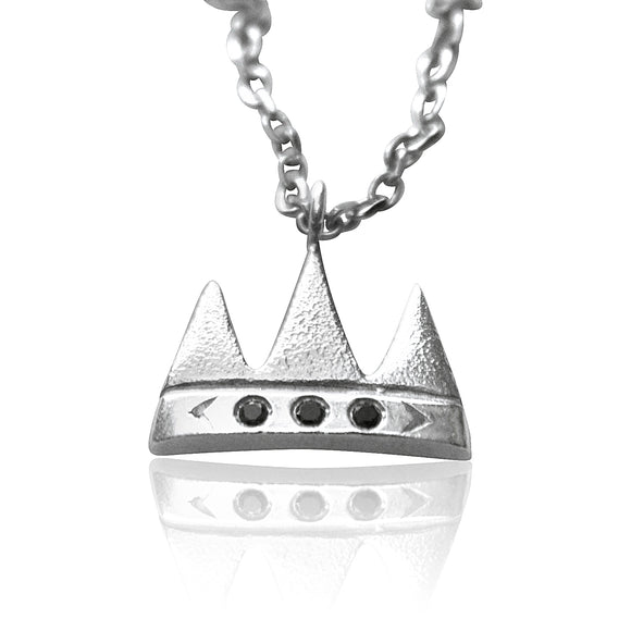 Crown Charm Necklace - b.Tsaritsa