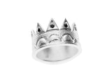 Black Diamond Crown Ring - b.Tsaritsa