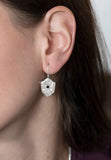 Black Diamond Shield Earrings - b.Tsaritsa