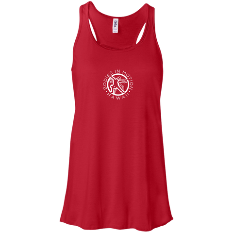 Image of Bodies in Motion Canvas Flowy Racerback Tank