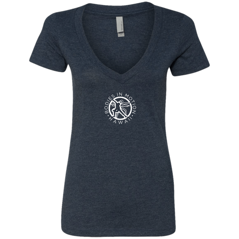 Image of Bodies in Motion Ladies' Deep V-Neck T-Shirt