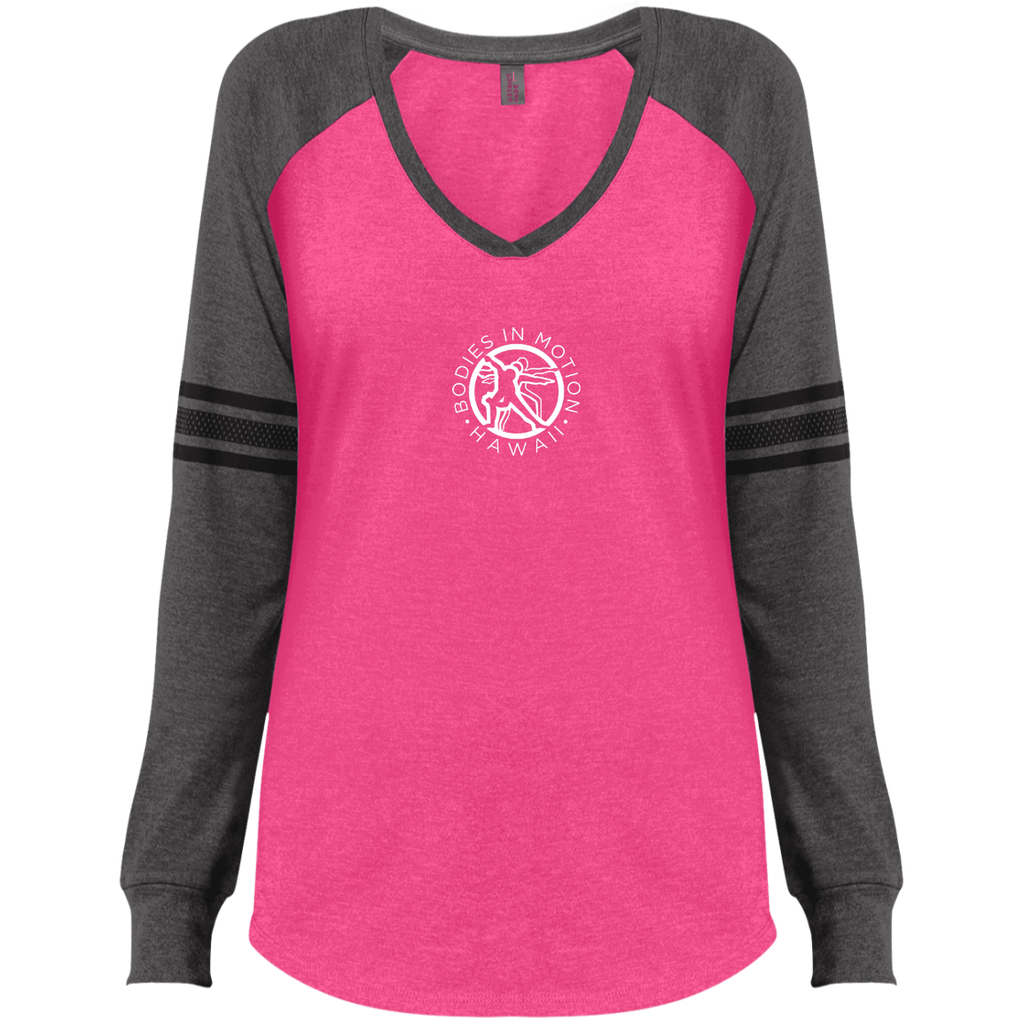 Bodies in Motion  Ladies' V-Neck T-Shirt