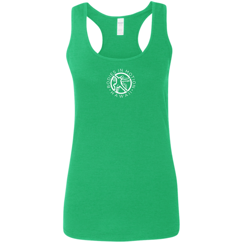 Image of Bodies in Motion  Ladies' Softstyle Racerback Tank