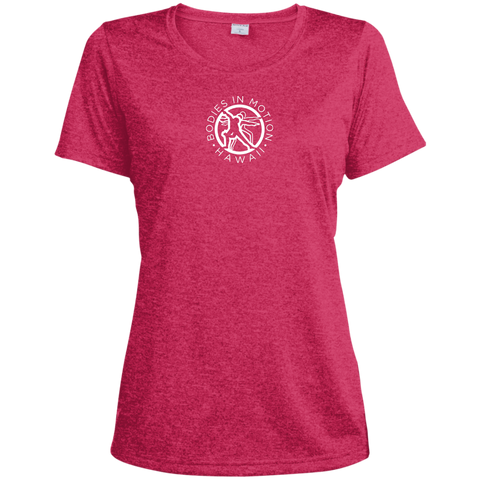 Image of Bodies in Motion  Sport-Tek Ladies' Heather Dri-Fit Moisture-Wicking T-Shirt