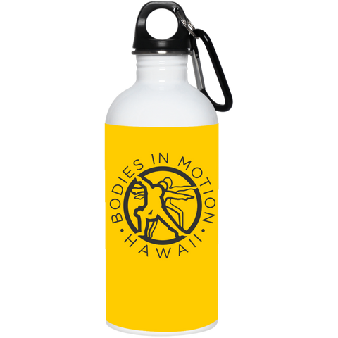 Bodies in Motion Stainless Steel Water Bottle